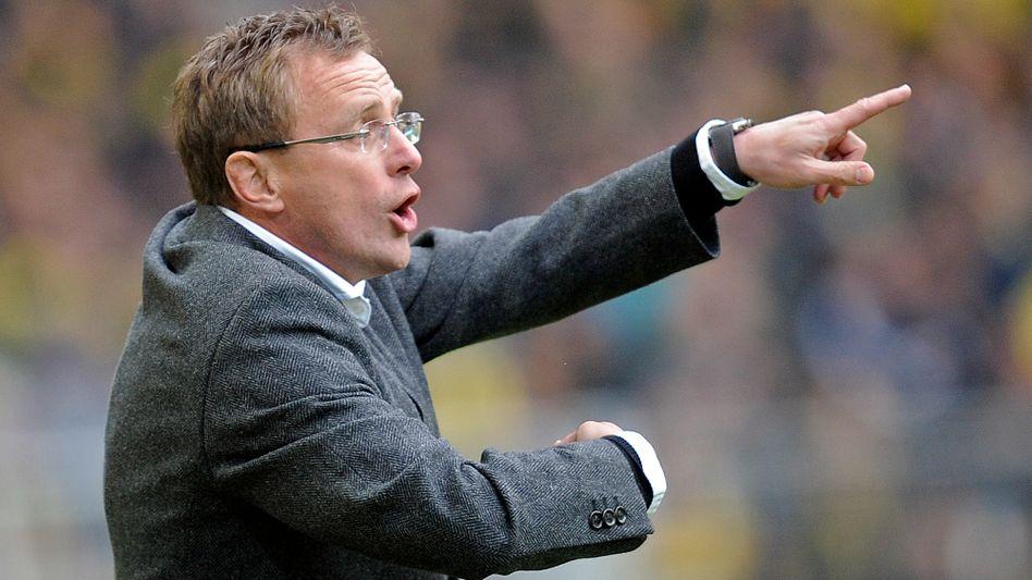 Trainer Rangnick: Als Nachfolger in Wolfsburg gehandelt