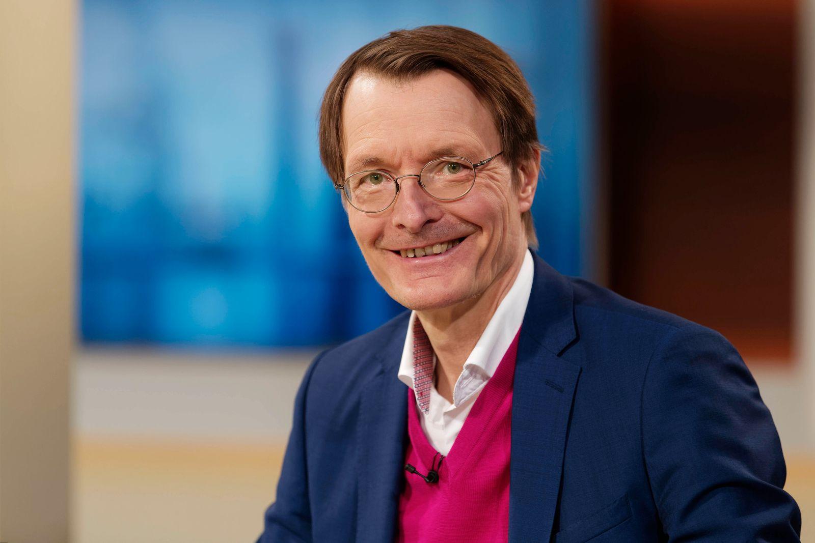 Karl Lauterbach 2021-03-07, Deutschland, Berlin - Karl Lauterbach (SPD), Bundestagsabgeordneter, Gesundheitsökonom und