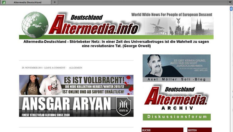 Neonazis im Netz: Datenhafen für radikale Propaganda