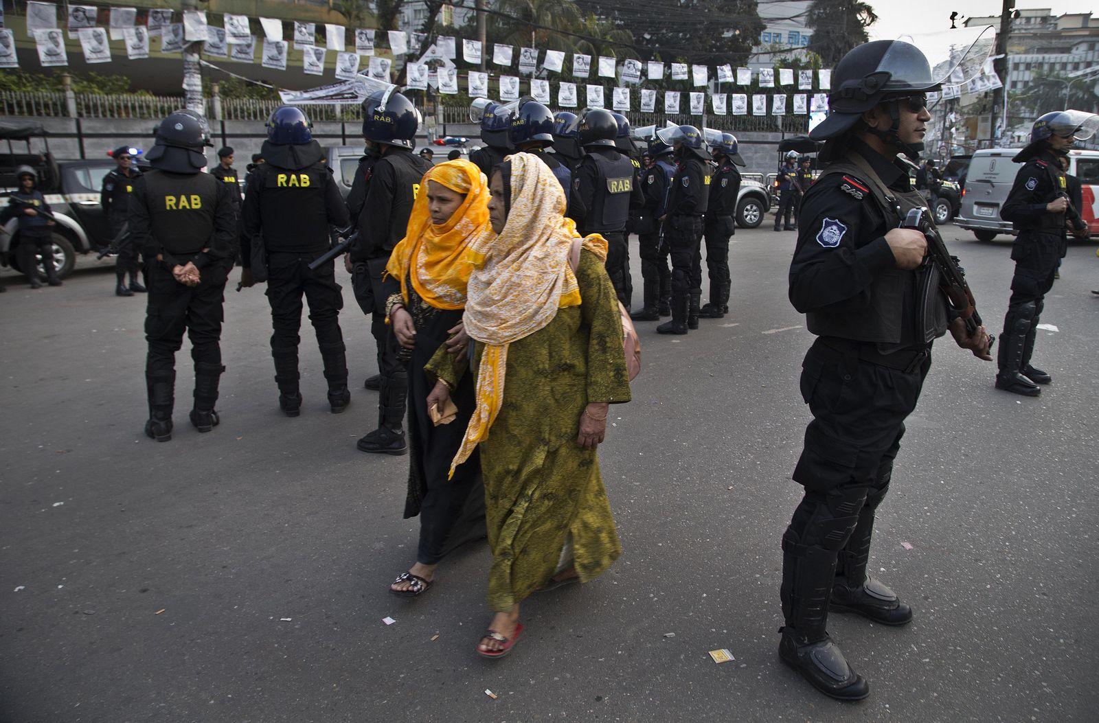 Parlamentswahl in Bangladesch