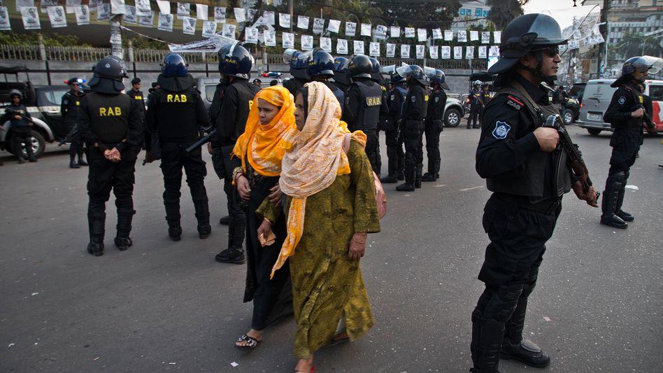 Bangladeschs Hauptstadt Dhaka vor den Parlamentswahlen