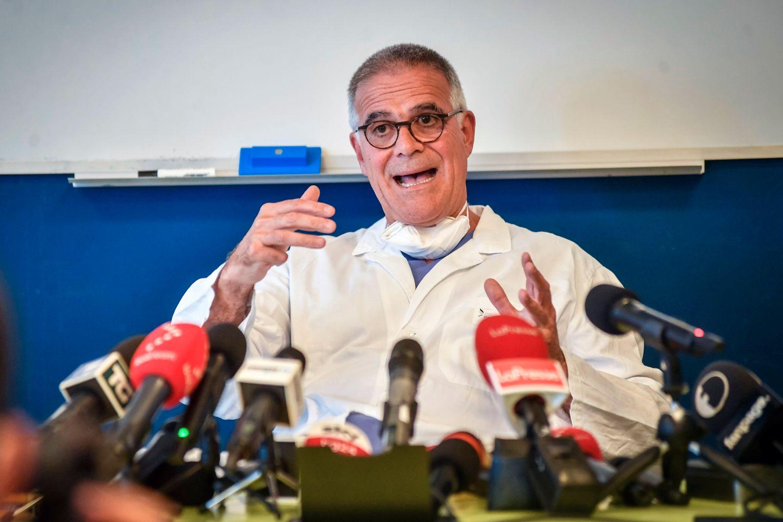 Coronavirus - Ex-Regierungschef Berlusconi im Krankenhaus