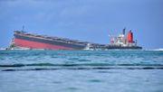 Havarierter Frachter könnte auseinanderbrechen