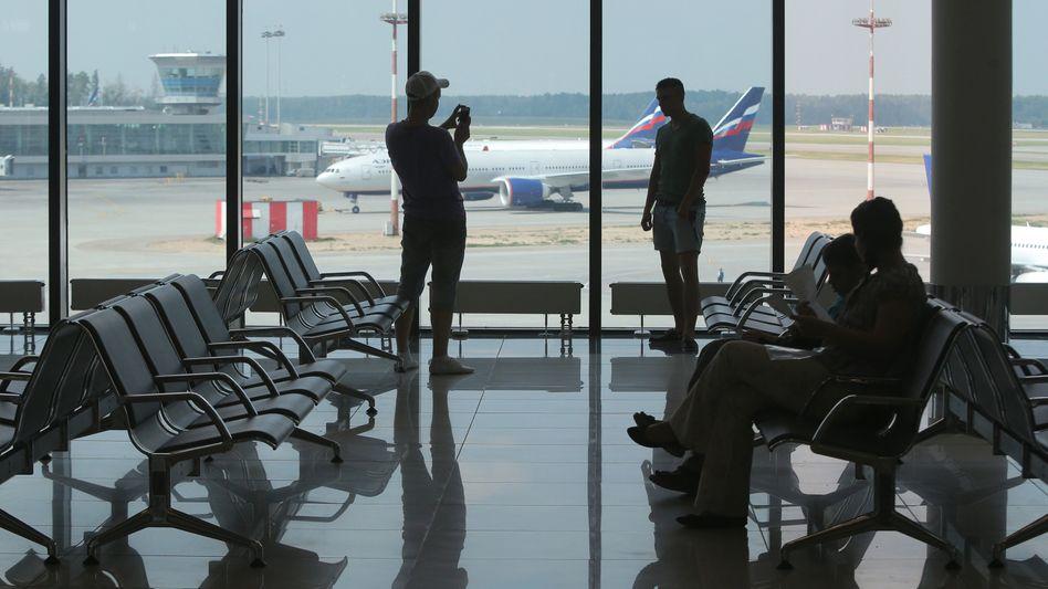 Transitbereich des Moskauer Flughafens: Wo ist Edward Snowden?