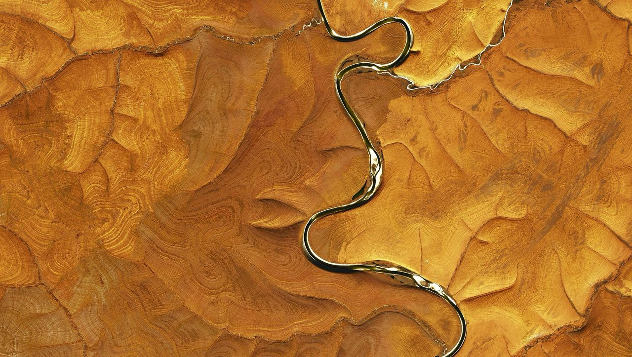 Satellitenbild der Woche: Das Rätsel der schönen Schlieren - DER SPIEGEL