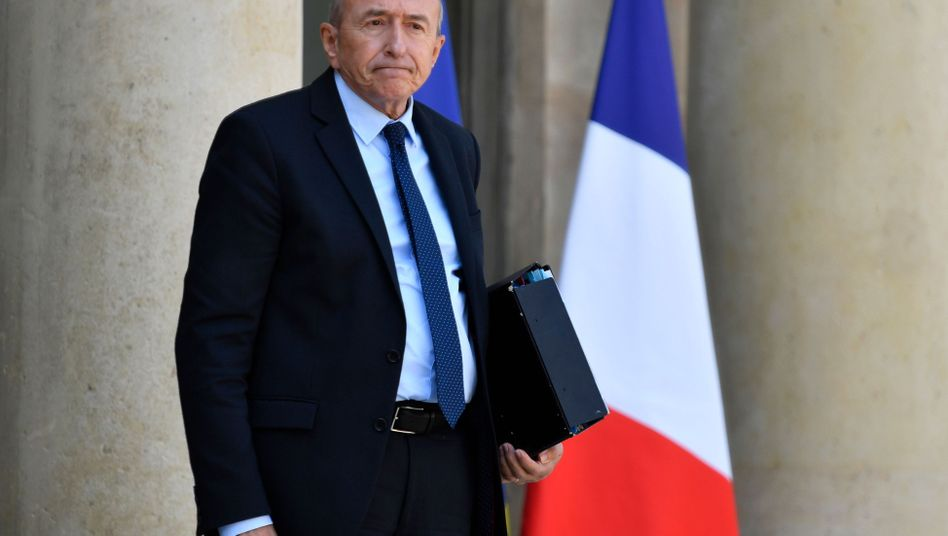 Innenminister Gérard Collomb