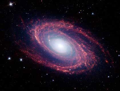 Sternenhaufen: Galaxien wie Messier 81 kamen durch Gravitationswellen an ihren Platz