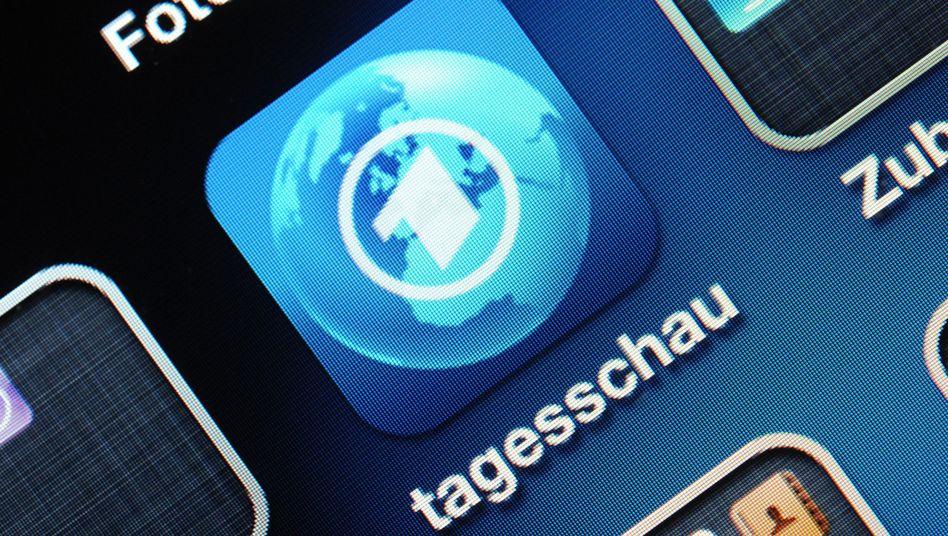 """App des Anstoßes: Logo des """"Tagesschau""""-iPhone-Programms"""