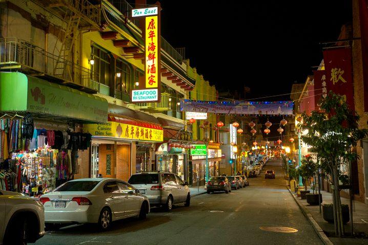 """Chinatown in San Francisco: """"Es ist doch bloß eine Grippe!"""""""