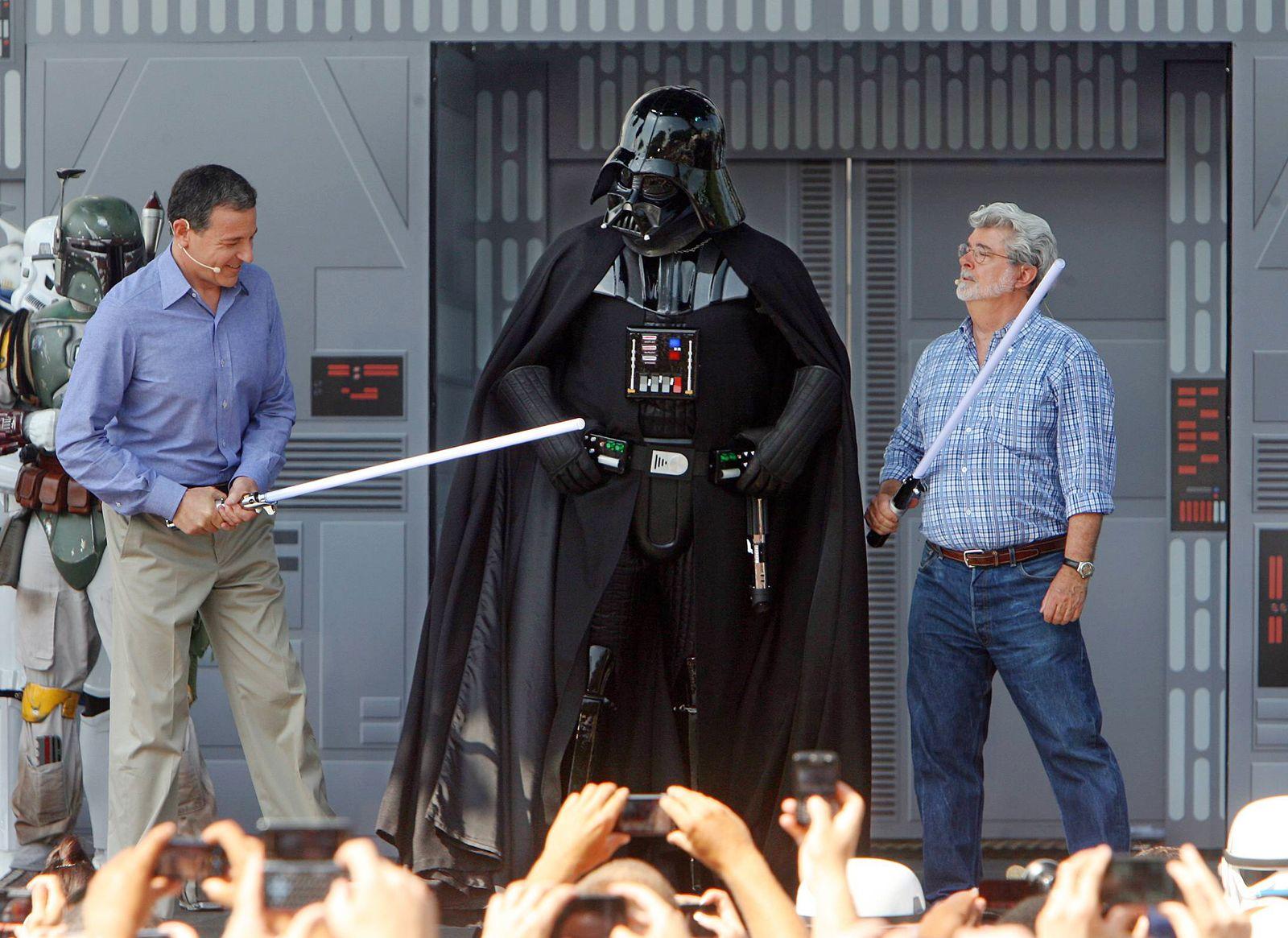 EINMALIGE VERWENDUNG BOB IGER/ Star Wars/ Walt Disney