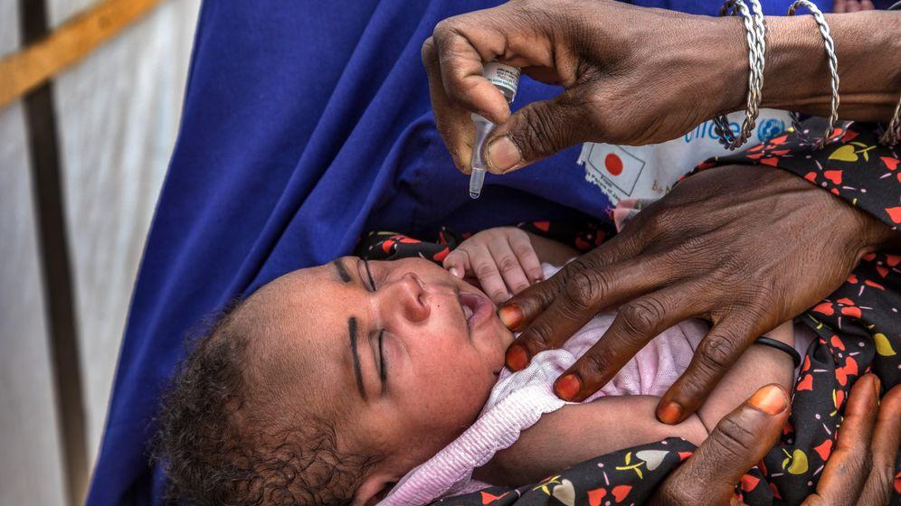 Kampf gegen Polio: Immer wieder auf Familien einreden, die Kinder zu impfen