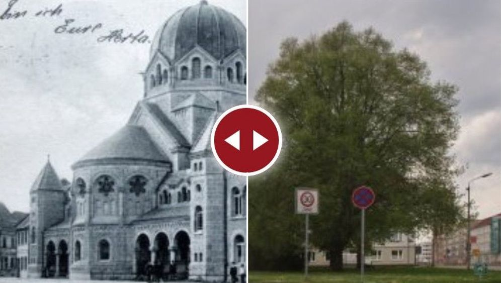 Schüler auf Recherche: Früher Synagoge, heute Ladenzeile