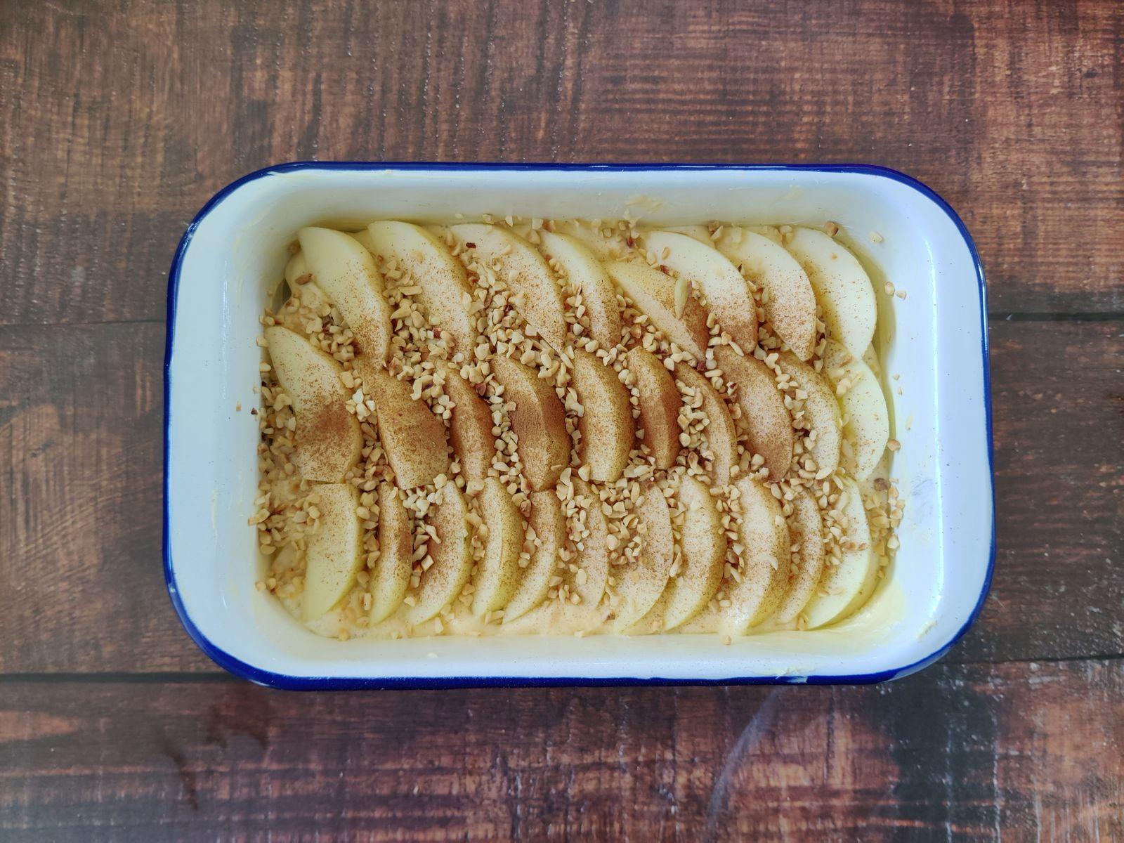 Kochen ohne Kohle / Apfel-Gries-Auflauf