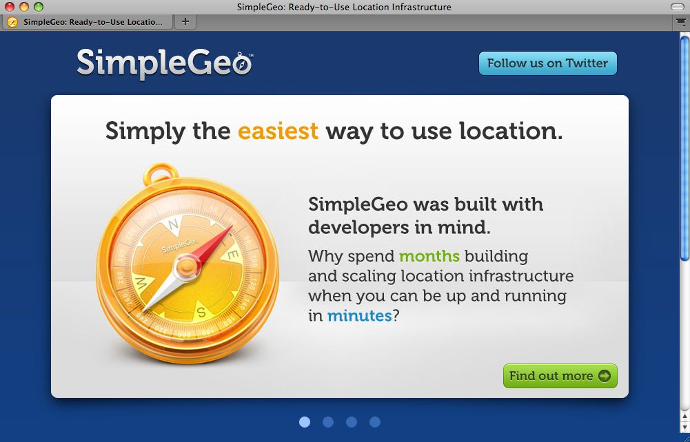 SCREENSHOT SimpleGeo