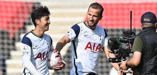 Tottenham Hotspur: Harry Kane bereitet vier Treffer von Son Heung-min vor