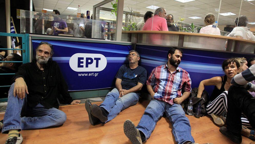 """Athen schließt Staatsrundfunk ERT: """"Das ist illegal"""""""