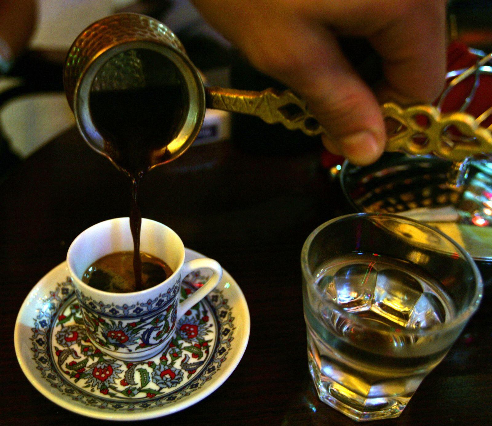 Städtetrip/ Istanbul/ Türkischer Kaffee/ Mokka