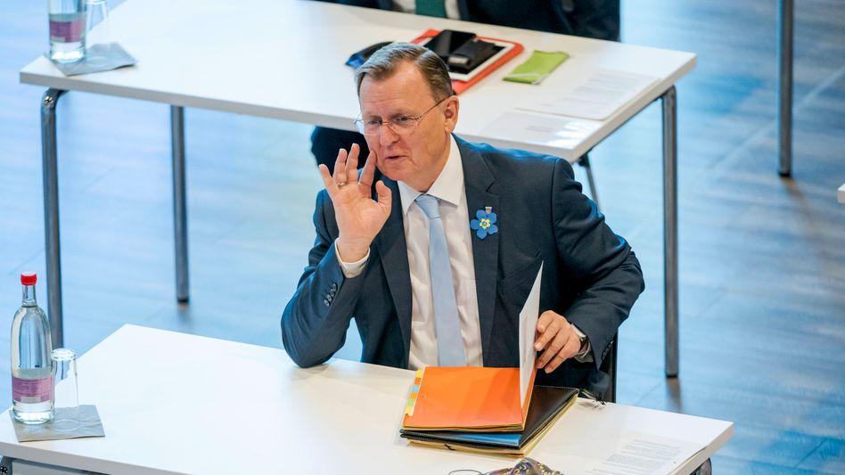 """Bodo Ramelow: """"Unsere Strategie zur Abwehr soll vom Krisenmanagement auf Regelbetrieb umgestellt werden"""""""