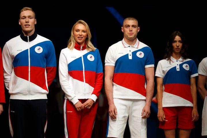 Hier wird die neue Olympia-Mode in Moskau gezeigt
