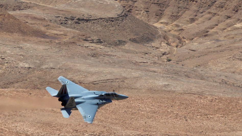 Israelisches Kampfflugzeug (Archivaufnahme)