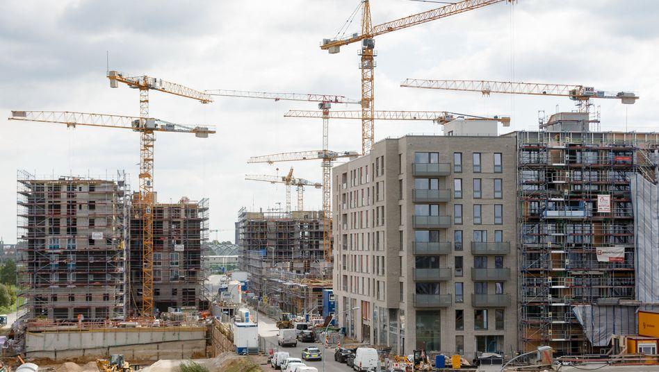 Neubauwohnungen in der Hamburger HafenCity