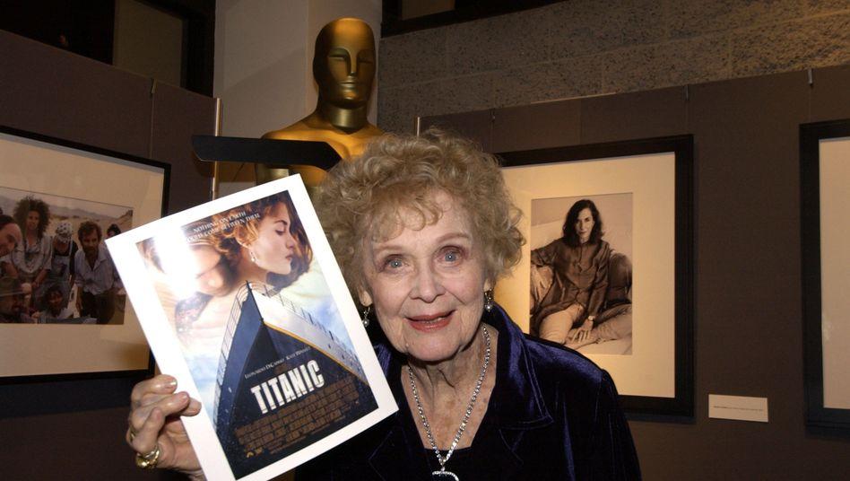 Schauspielerin Stuart (auf einem 2003 veröffentlichten Foto): Sie wurde 100 Jahre alt