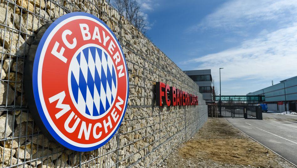 Eingang des FC Bayern Campus (Archivbild)