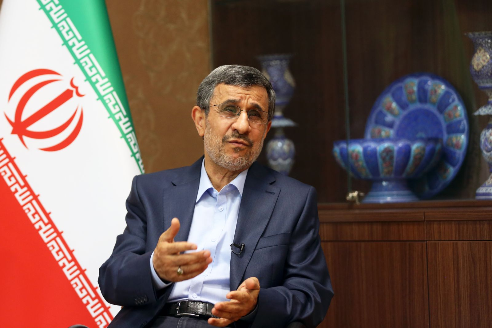 Iranian former President Mahmoud Ahmadinejad