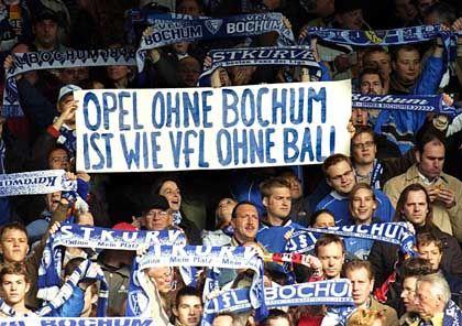 Anhänger des VfL Bochum: Viele Probleme im Ruhrgebiet