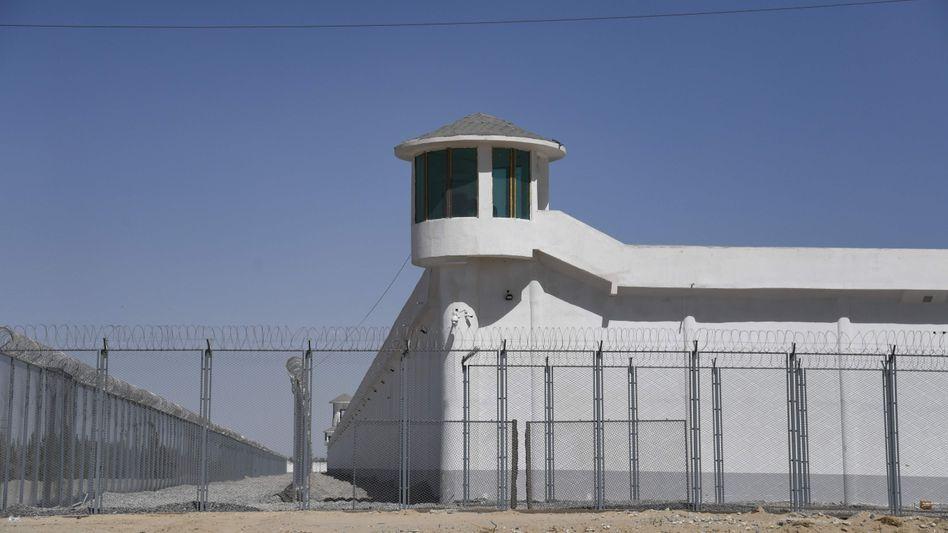 Mutmaßliches Uiguren-Straflager in der chinesischen Provinz Xinjiang (Archivbild)