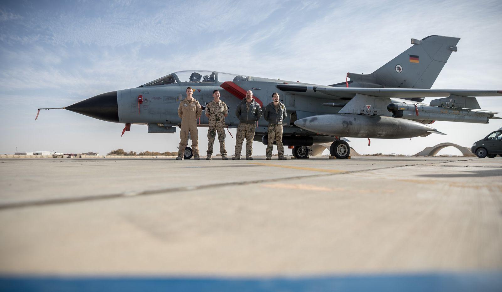 Luftaufklärung der Bundeswehr über Syrien und dem Irak