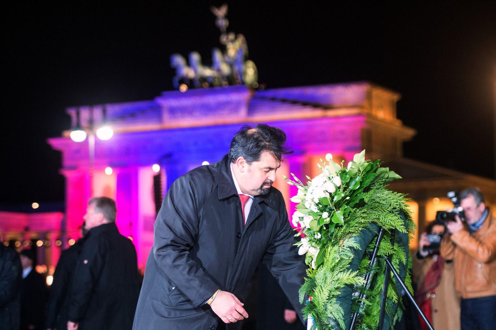 Mahnwache gegen Terror in Berlin
