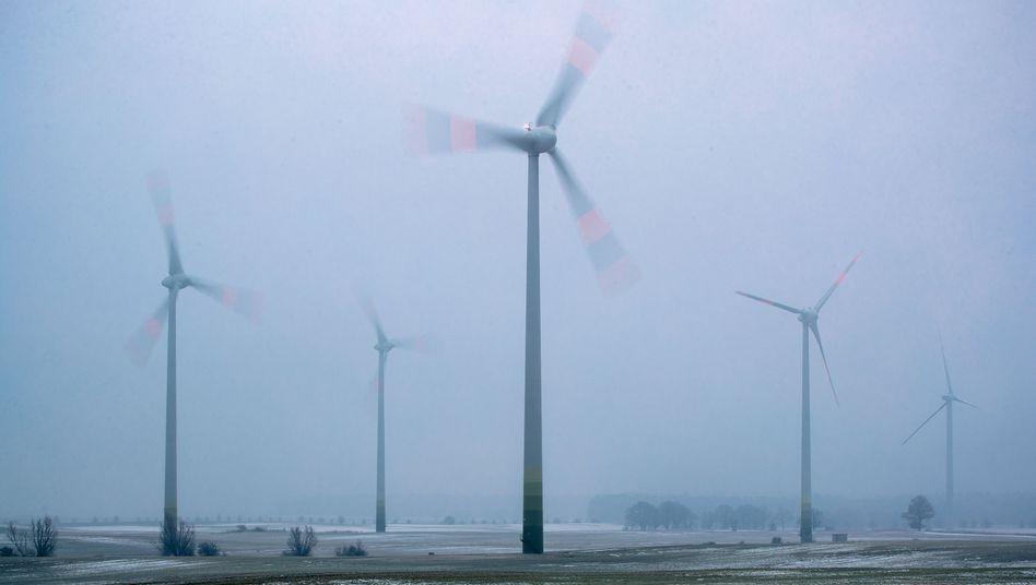 Windkraftanlagen in Mecklenburg (Symbolbild): KG-Anteile zu jeweils 500 Euro für Anwohnerinnen und Anwohner