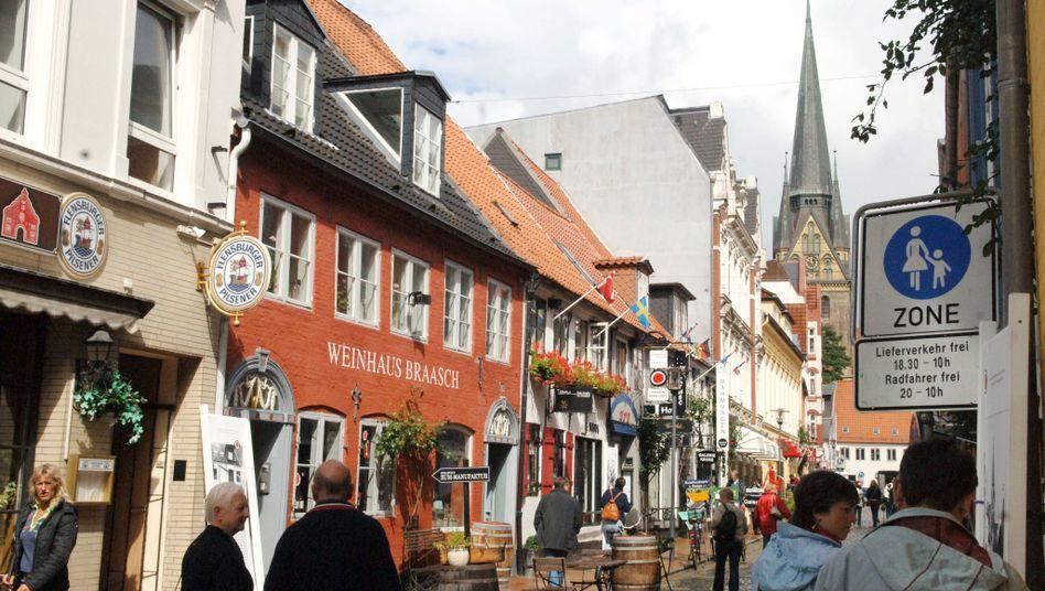 Flensburger Altstadt: Wo suchten die Volkszähler das Volk?