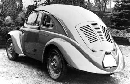 Prototyp VW 30 aus dem Jahre 1937: Hitler war begeistert und taufte das Auto auf KdF-Wagen