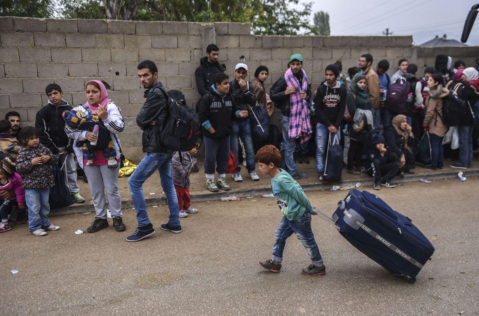 Serbien/ Migranten/ Flüchtlinge