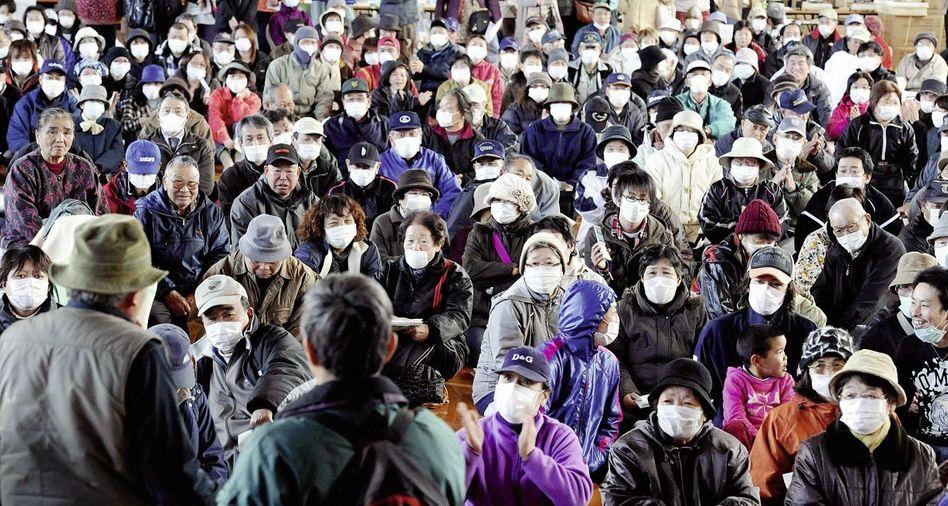 Flüchtlinge nach dem Reaktorunfall in Fukushima: »Ein Ereignis, das nicht eintreten kann«