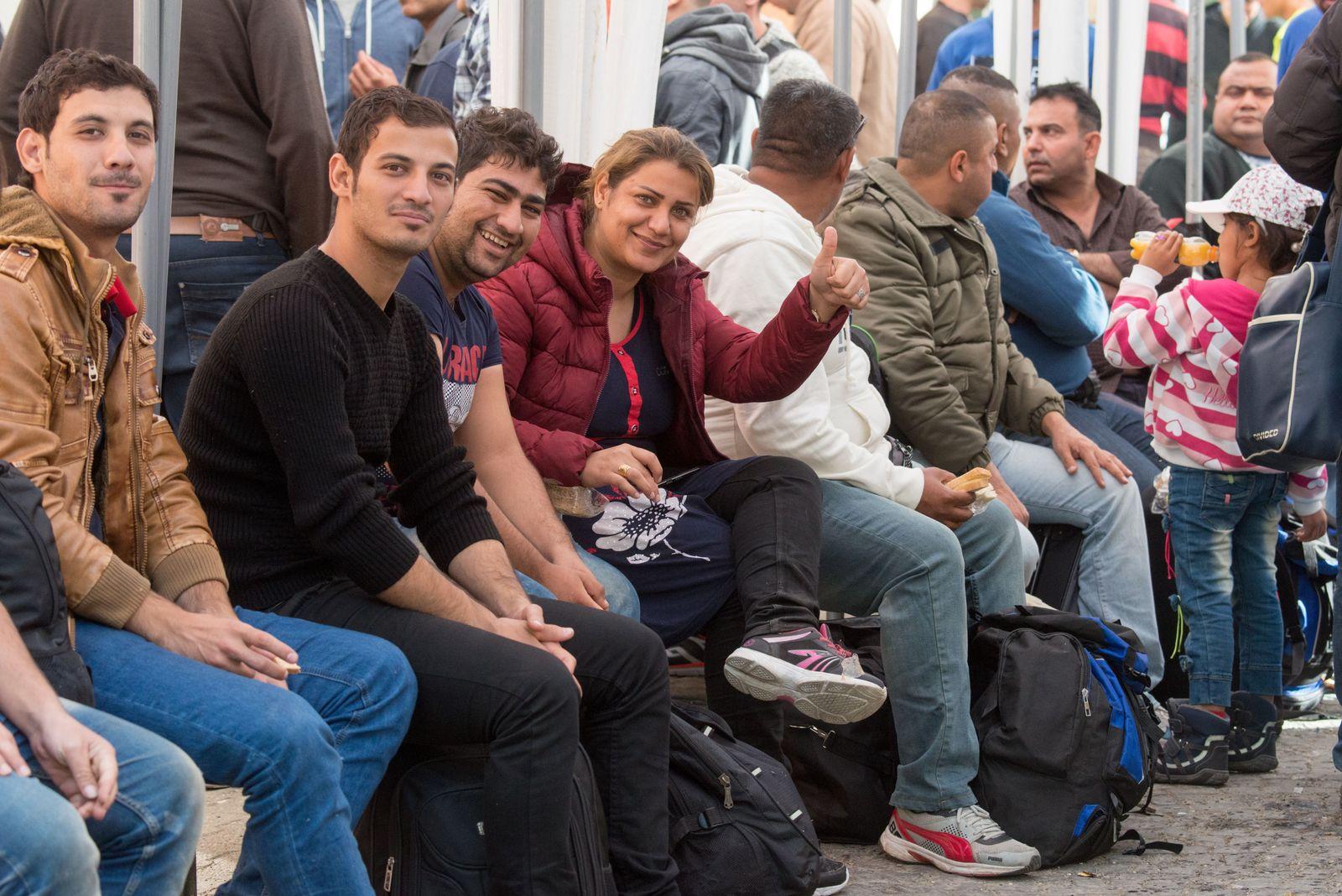 Flüchtlinge/ Passau