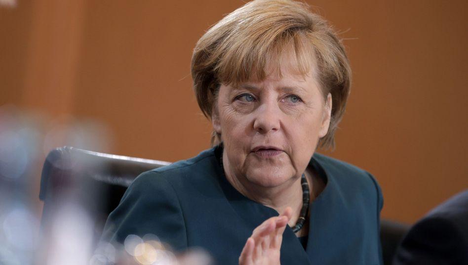 """Kanzlerin Merkel: Referendum """"nicht mit Verfassung vereinbar"""""""