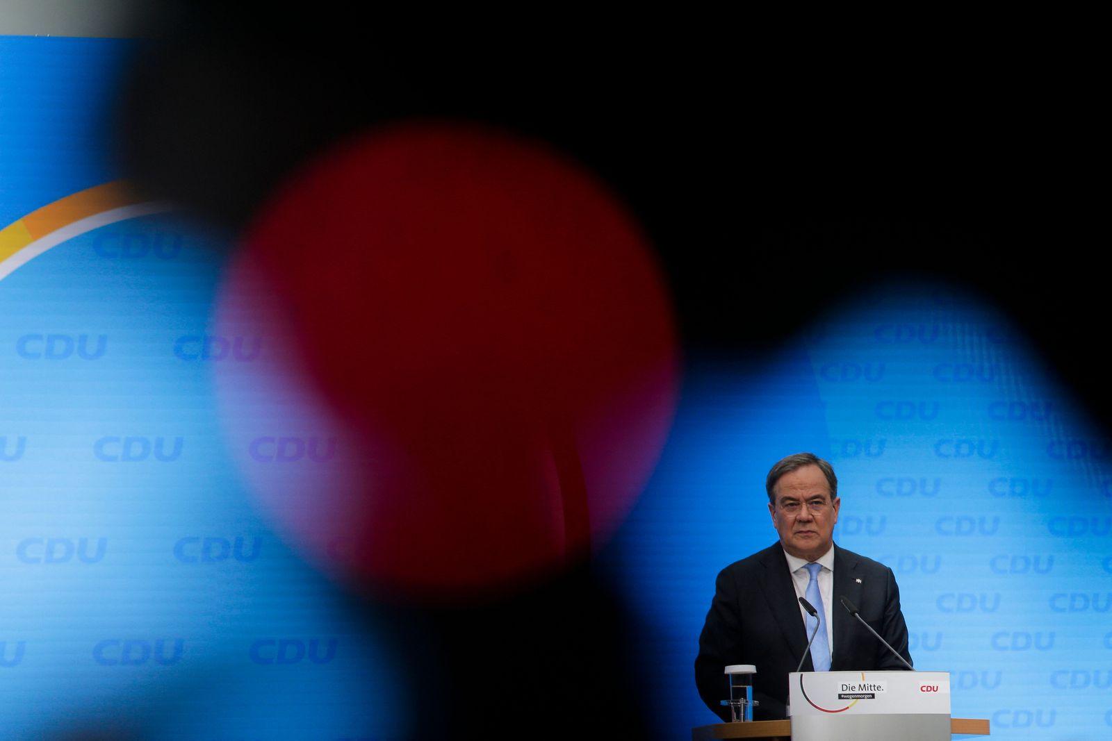 GERMANY-POLITICS-PARTIES-CDU-LASCHET