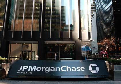 Krisenbank JP Morgan Chase: 25 Milliarden Dollar von der US-Regierung