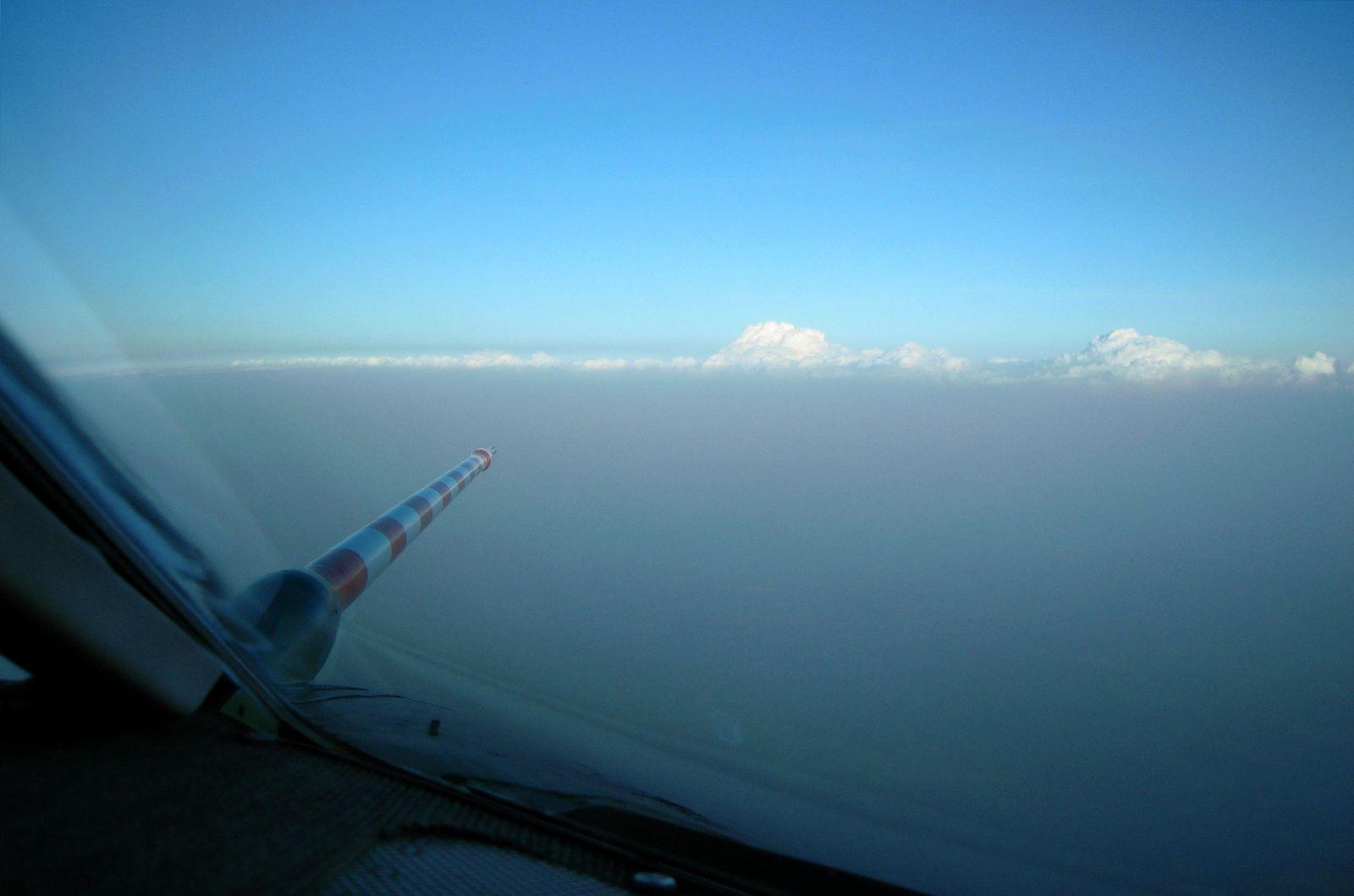 Forschungsflug zu Aschenwolke