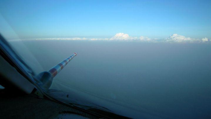 Vulkanasche: Rätselraten über die Wolke