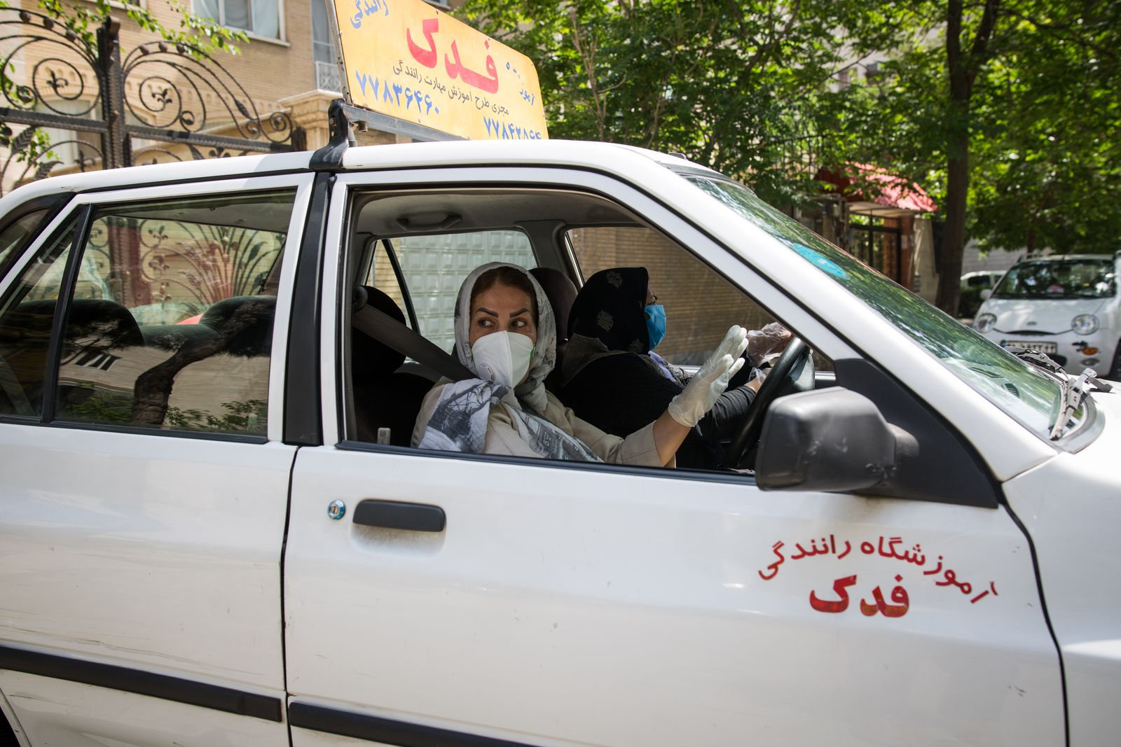 Maryam, The driving instructor