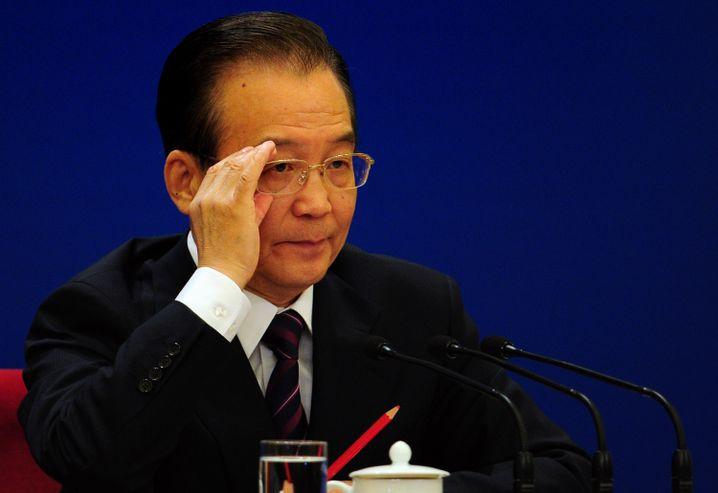 Chinas Premier Wen: Zu viel Geld im Umlauf