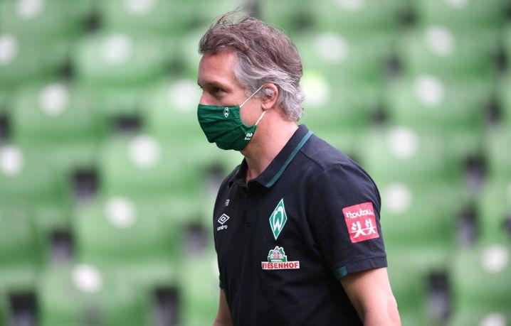 Werders Geschäftsführer Frank Baumann