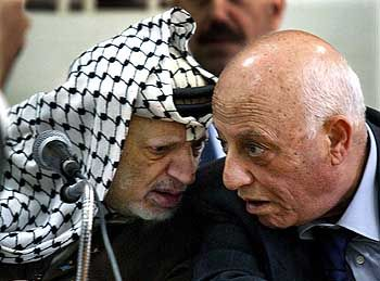 """Arafat und Kurei: """"Das Problem ist nicht Arafat"""""""