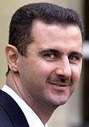 Baschar al-Assad gibt sich volksnah