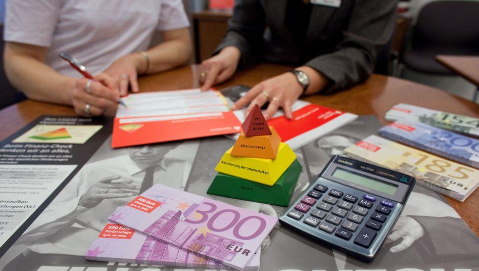 Kundenberatung in einer Sparkasse: Protokollierung mangelhaft