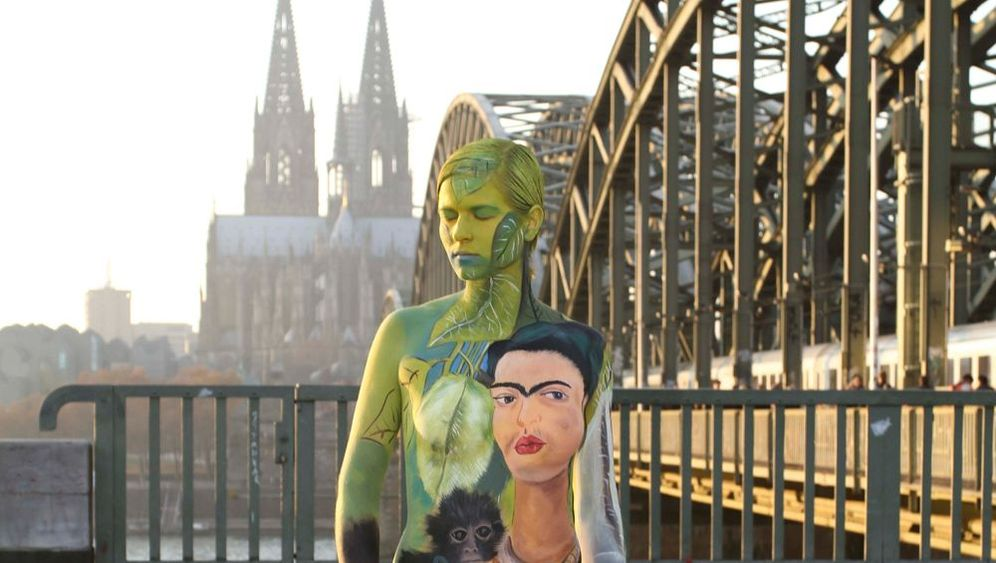 Kunst auf Frauenkörpern: An meine Haut lasse ich nur Kahlo und Klimt